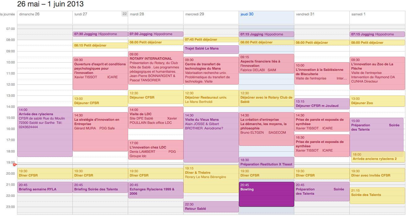 RYLA Programme 2013