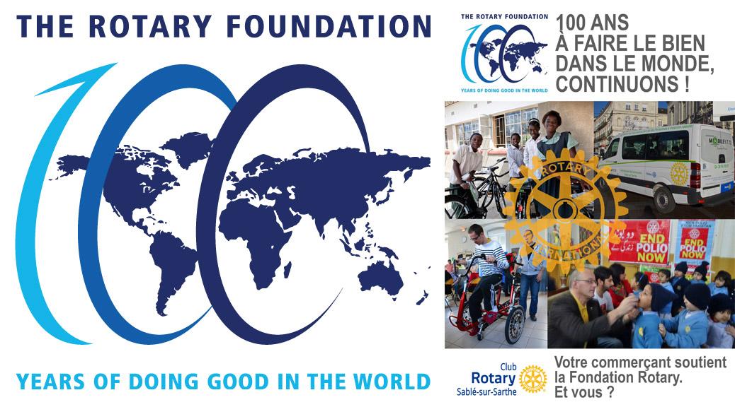100 ans faire le bien dans le monde rotary club de for Dans 100 ans